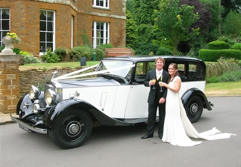 1936 Rolls Royce wedding car