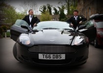 Aston Martin DB9 groom car