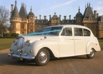Ivory Austin Princess wedding car