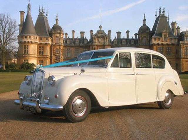 Ivory Austin Princess wedding car