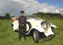 Rolls Royce Tourer and Chauffeur