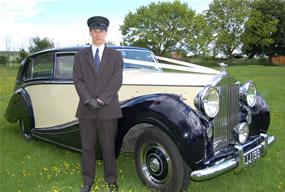 Rolls Royce wedding car - Wraith with Chauffeur