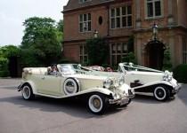 Beauford bubble wedding cars