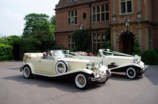 Beauford bubble wedding cars
