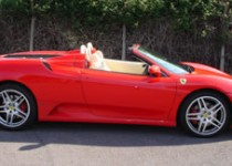 Ferrari F430 groom car