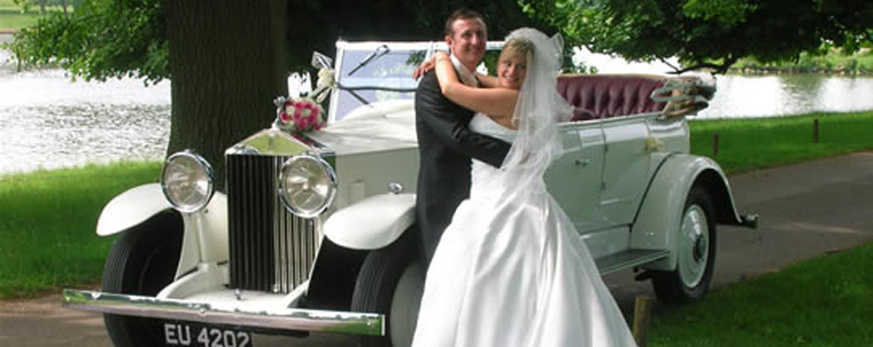 Rolls Royce Tourer wedding car