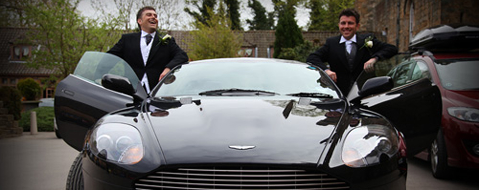Aston Martin Wedding Car. Aston Martin DB9