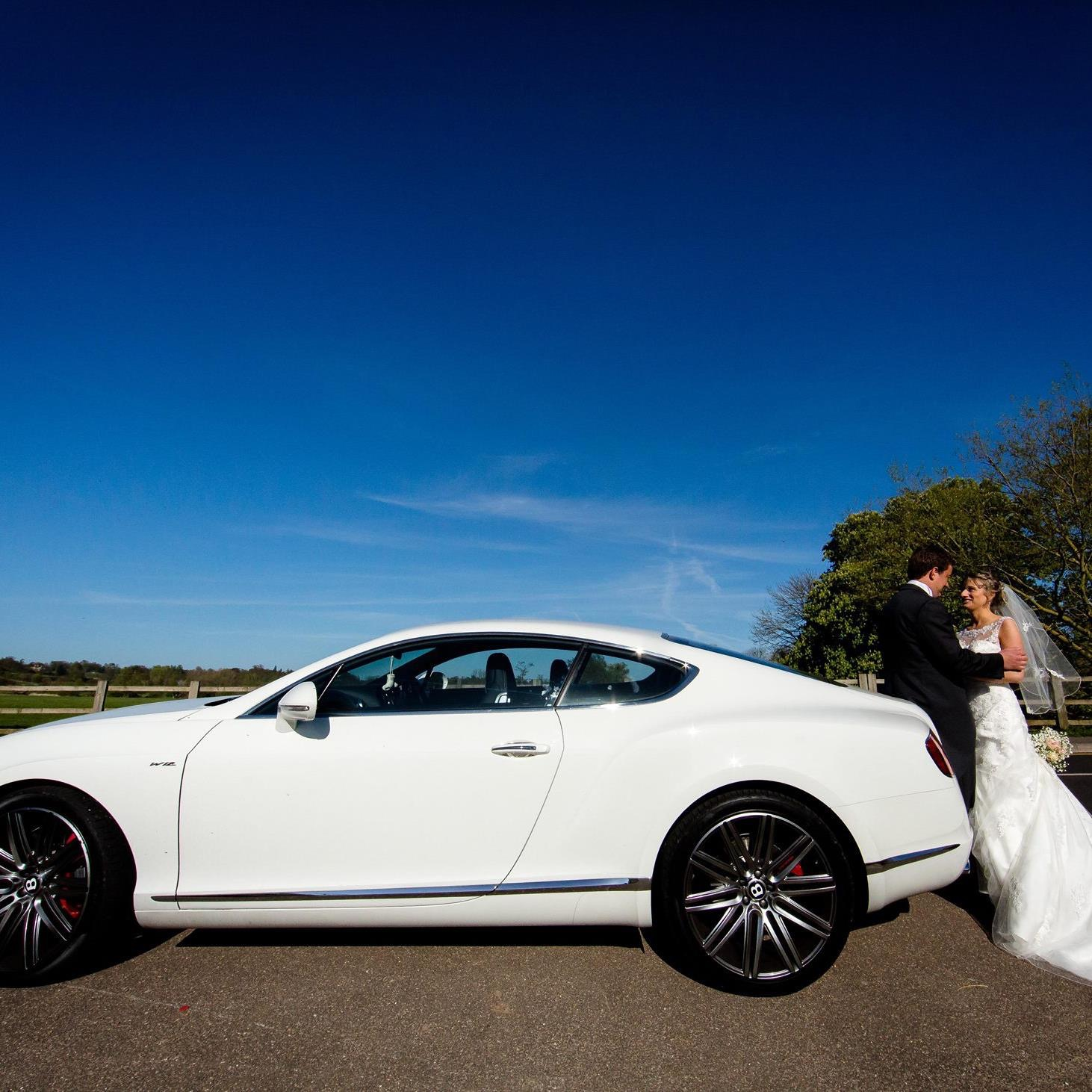 Jacqui Treated Her Groom To The Stunning Bentley GT Speed