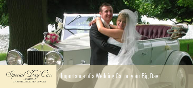 Importance of a Wedding Car on your Big Day