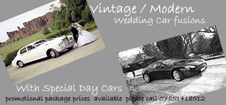 vintage and modern infusions for a wedding - special promotion image